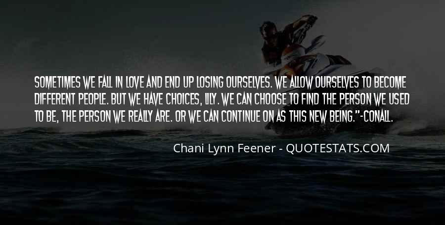 Quotes About We Are Different #142480