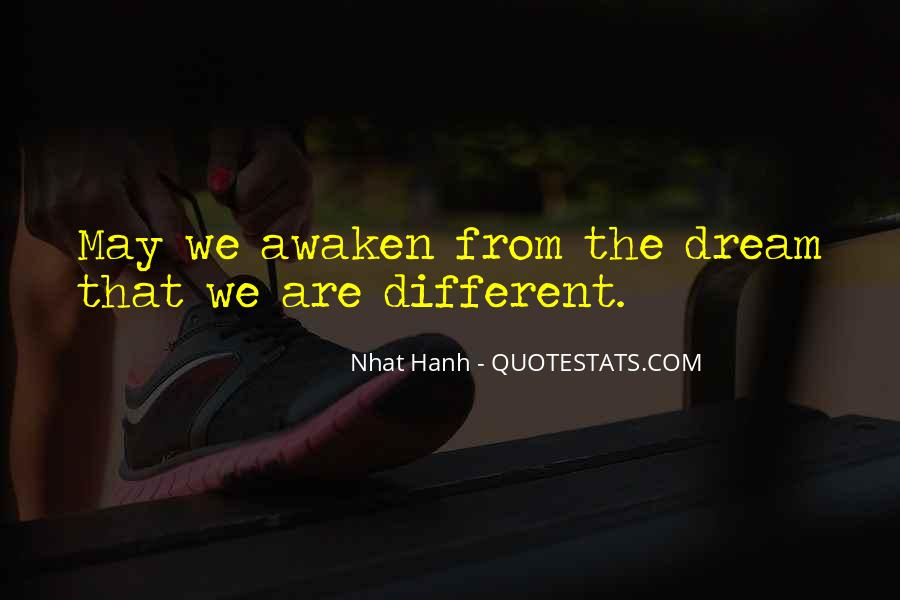 Quotes About We Are Different #147989