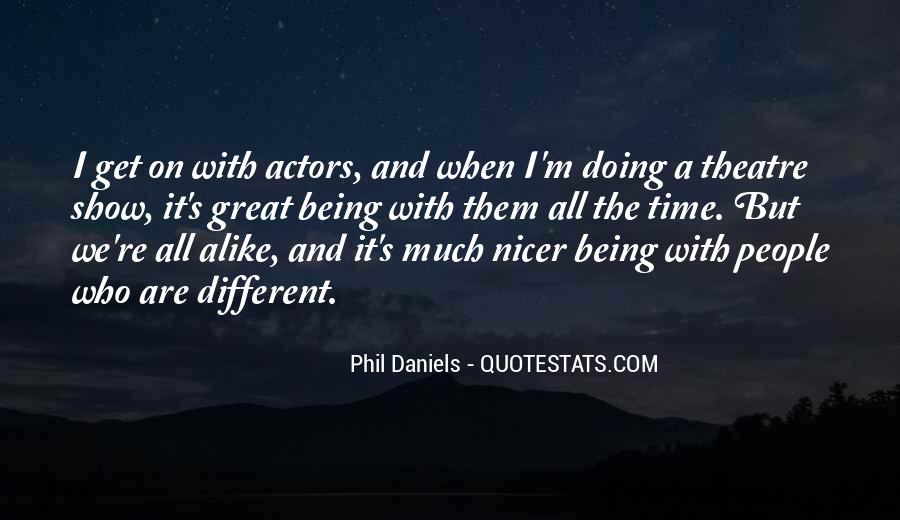 Quotes About We Are Different #16162