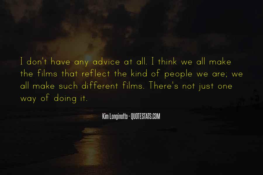 Quotes About We Are Different #16653