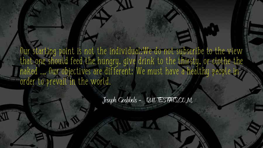 Quotes About We Are Different #44251