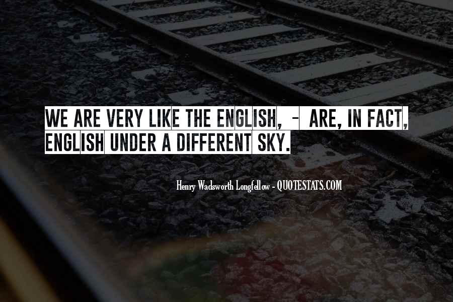 Quotes About We Are Different #63046