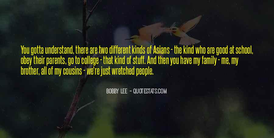 Quotes About We Are Different #66513