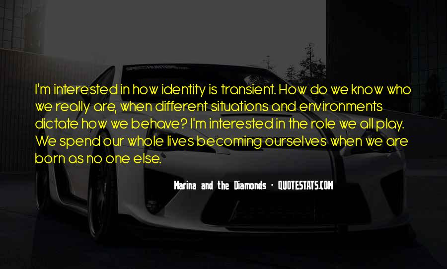 Quotes About We Are Different #78767