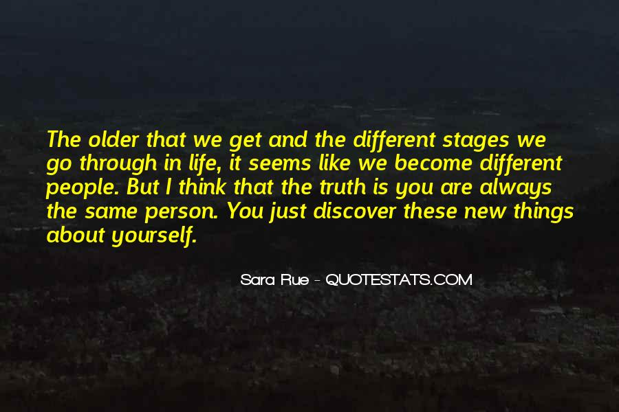 Quotes About We Are Different #79979