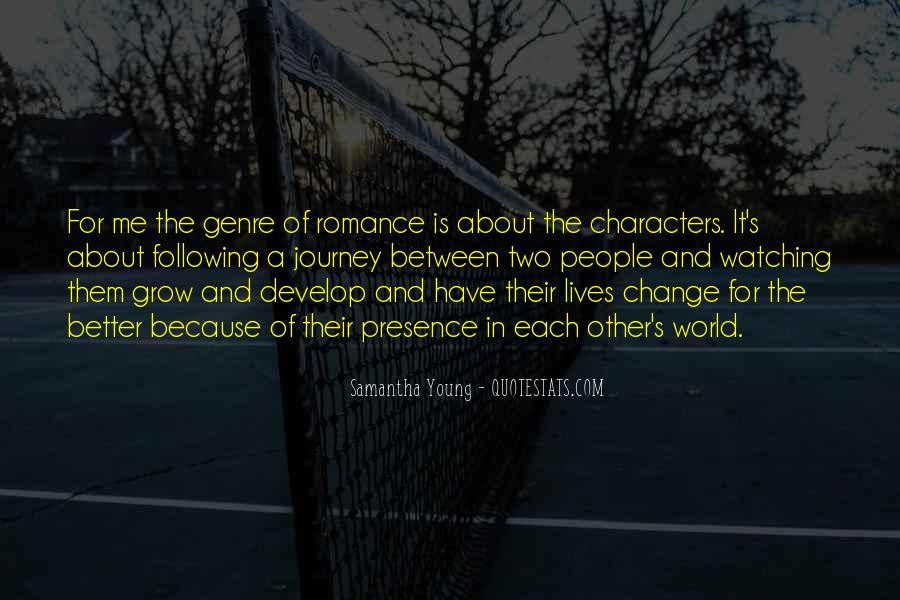 Quotes About A Better Change #160942
