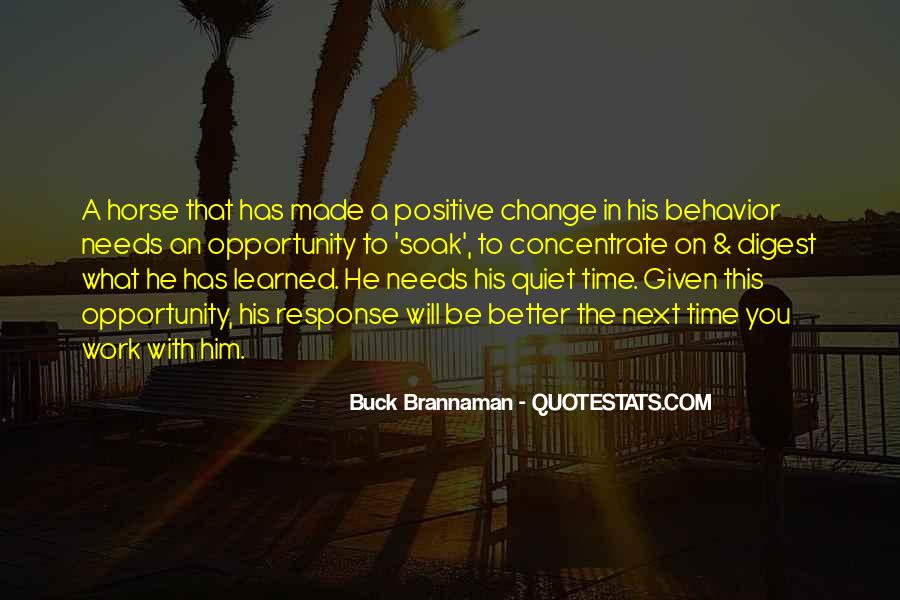 Quotes About A Better Change #198342
