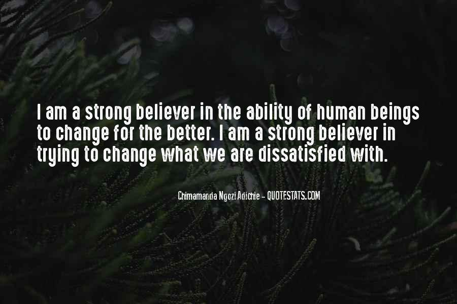Quotes About A Better Change #277065