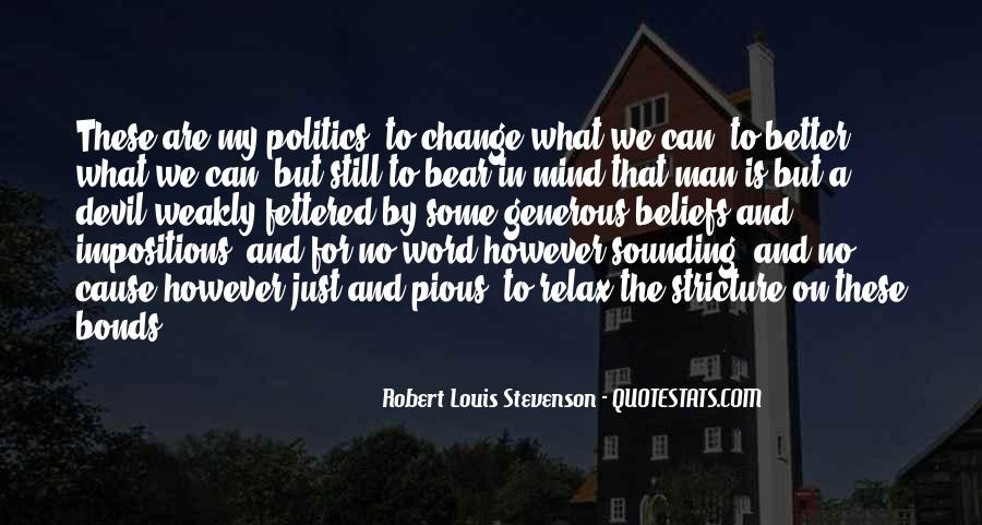Quotes About A Better Change #361523