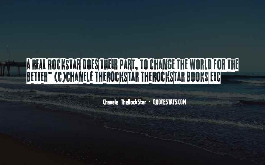 Quotes About A Better Change #368263