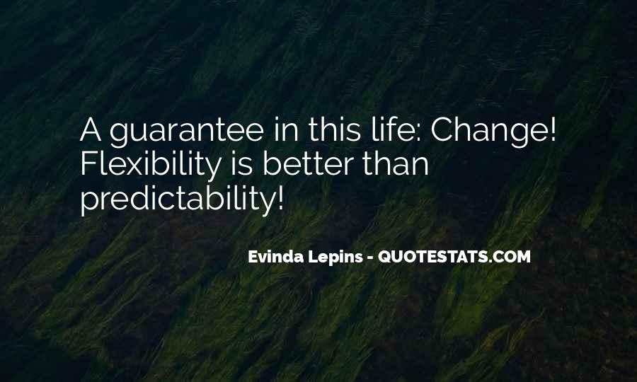 Quotes About A Better Change #67339