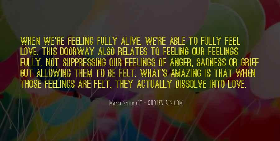 Quotes About Suppressing Feelings #1211922