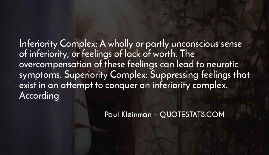 Quotes About Suppressing Feelings #1212419