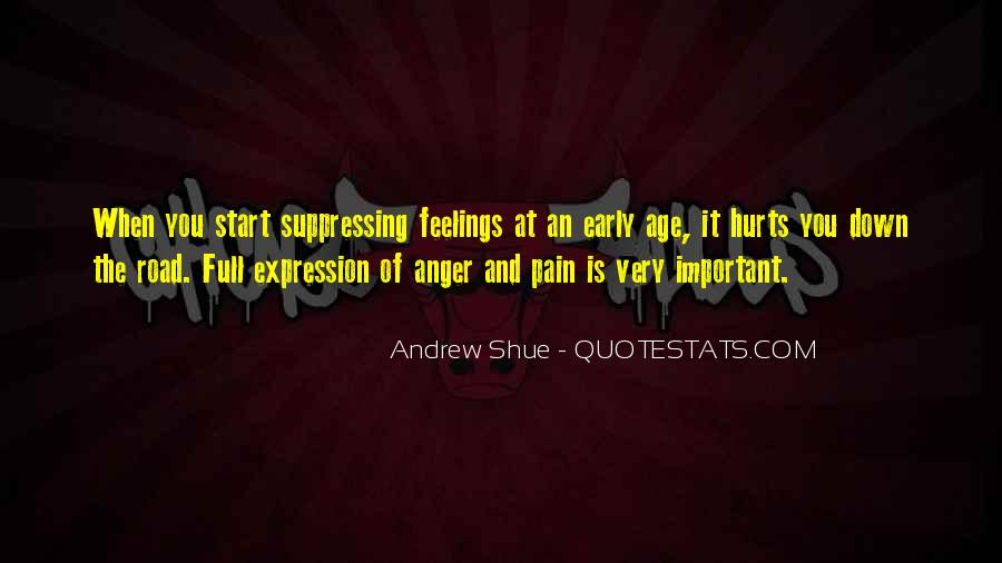 Quotes About Suppressing Feelings #332090