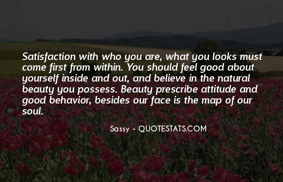 Quotes About Attitude And Beauty #965610