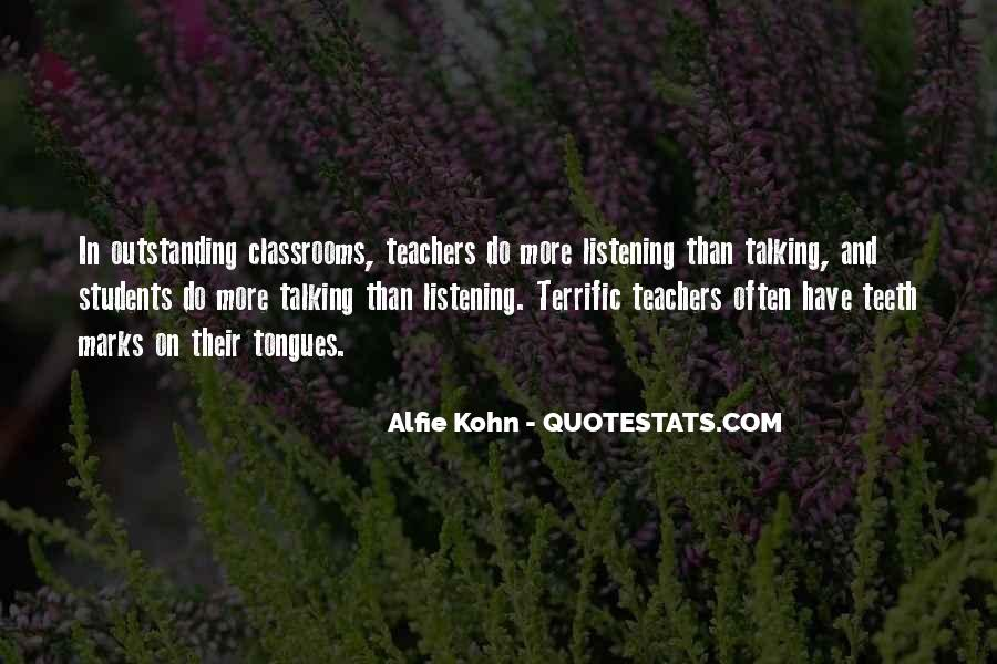Quotes About Outstanding Teachers #1378806
