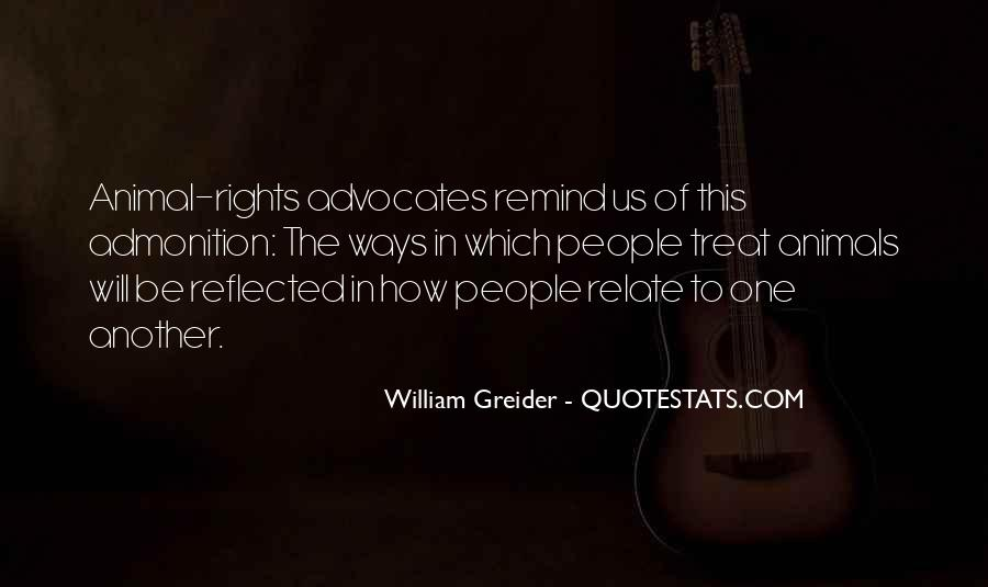 Quotes About Animal Advocates #1578295