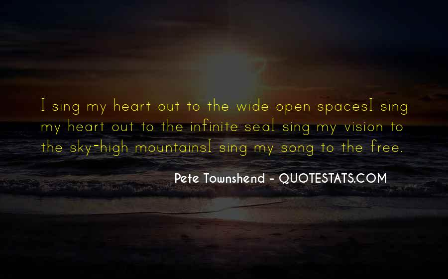 Quotes About Open Spaces #1019135