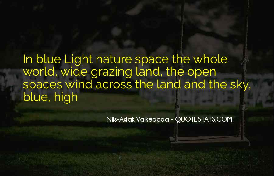 Quotes About Open Spaces #1166959