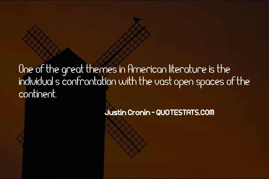 Quotes About Open Spaces #1877522