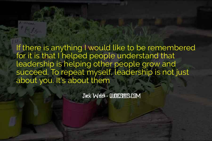 Quotes About Helping Others Succeed #1061012