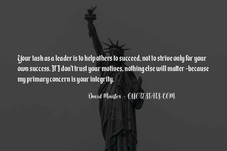 Quotes About Helping Others Succeed #804007