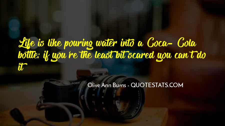Quotes About Pouring Water #1326809