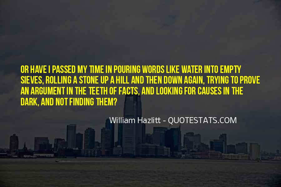 Quotes About Pouring Water #541997