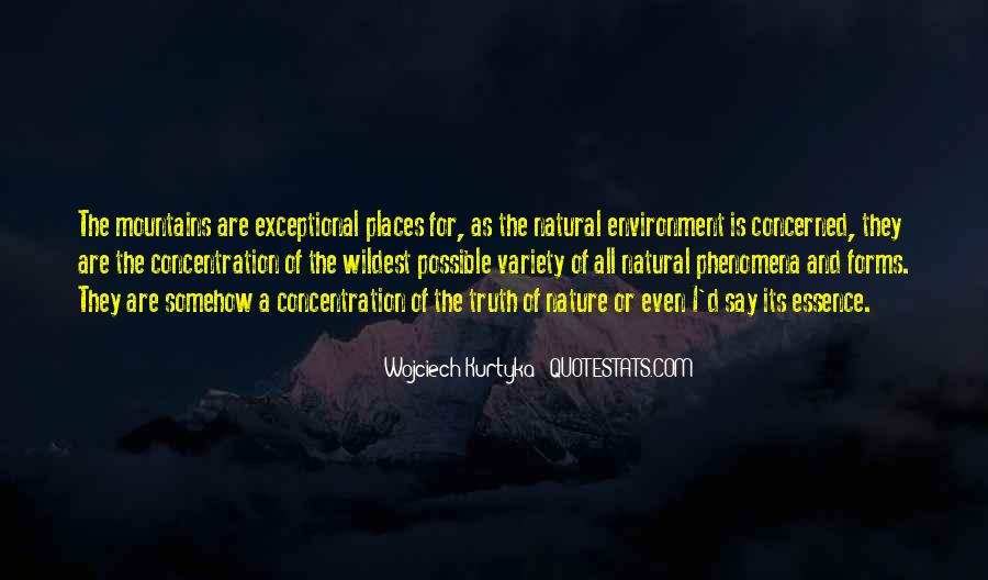 Quotes About Natural Forms #243320