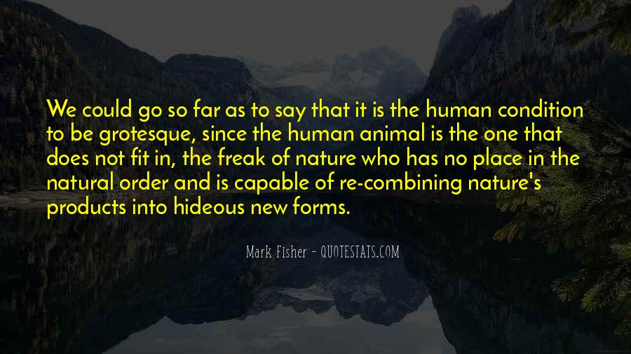 Quotes About Natural Forms #267596