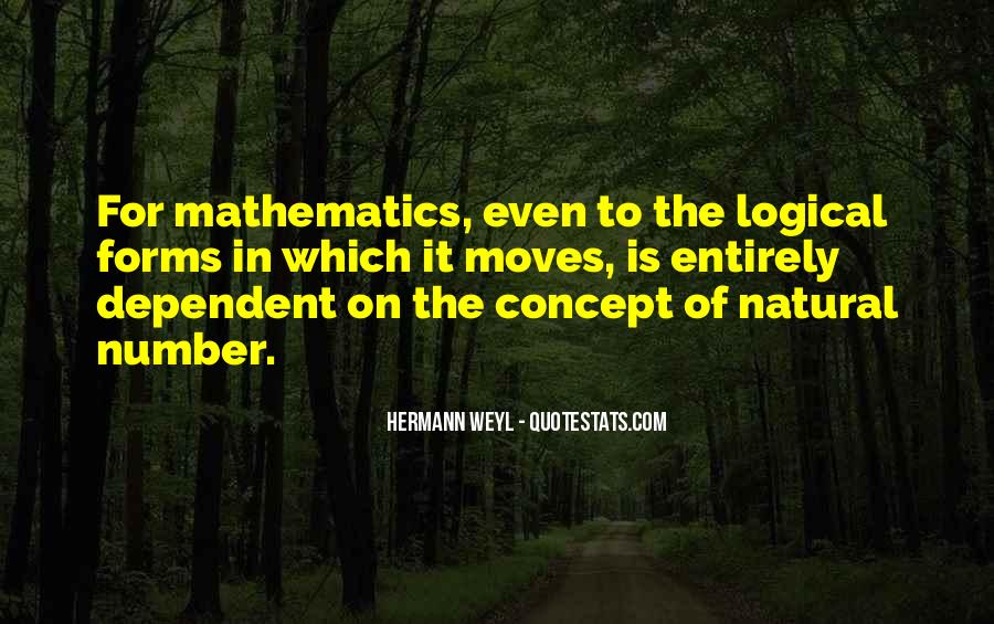 Quotes About Natural Forms #513236