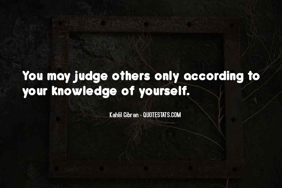 Quotes About Judgemental People #477923