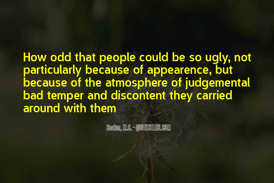 Quotes About Judgemental People #754946