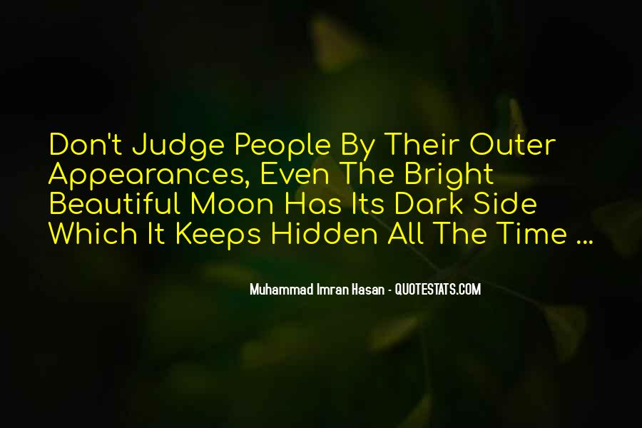 Quotes About Judgemental People #875252