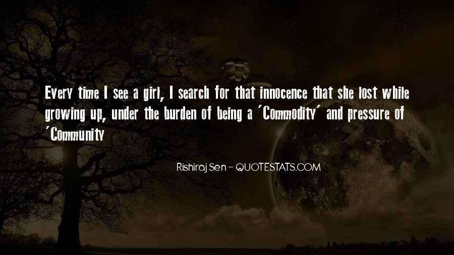 Quotes About A Girl U Lost #219188