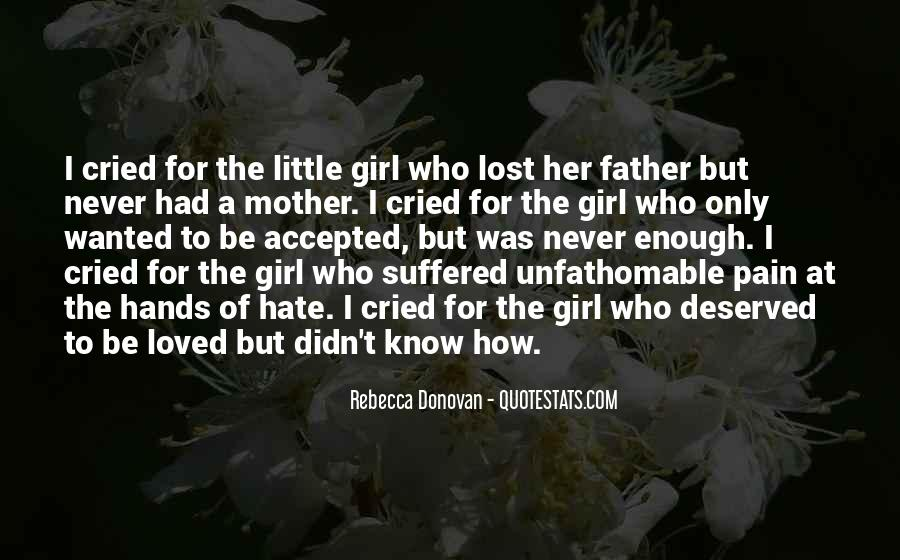 Quotes About A Girl U Lost #337434