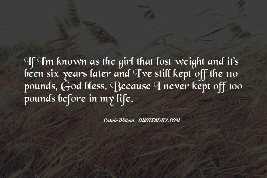 Quotes About A Girl U Lost #410894