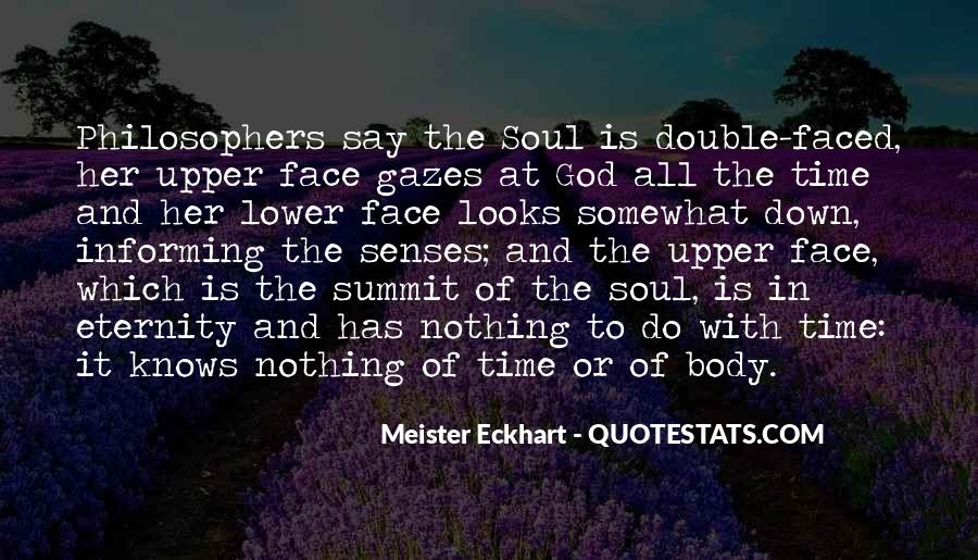 Quotes About The Many Faced God #1123243