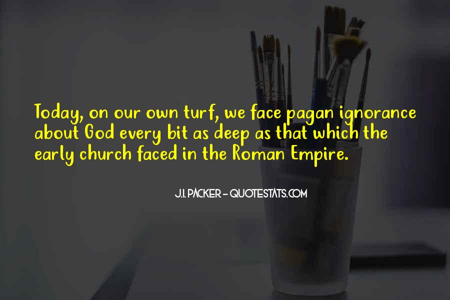 Quotes About The Many Faced God #1309258