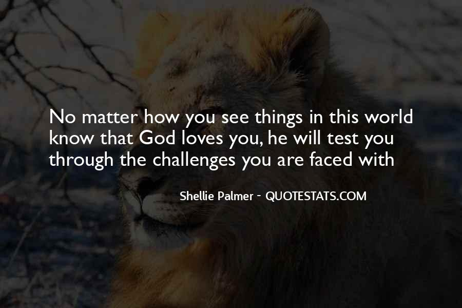 Quotes About The Many Faced God #1427319