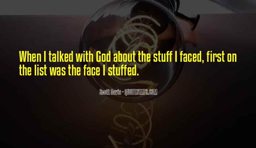 Quotes About The Many Faced God #249350