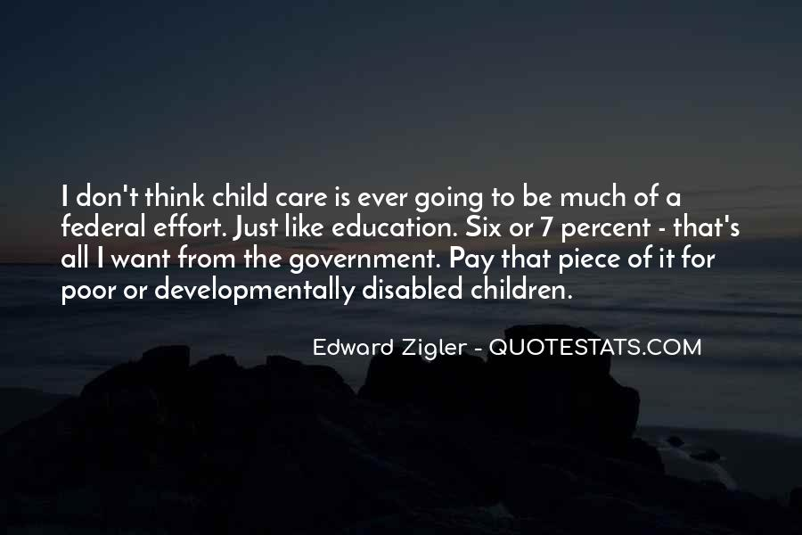 Quotes About Poor Education #1207560