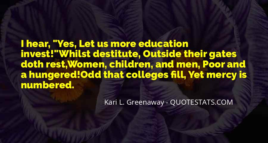 Quotes About Poor Education #1268359