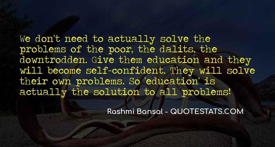 Quotes About Poor Education #1272111