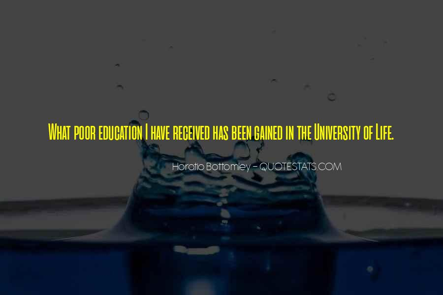 Quotes About Poor Education #1297883