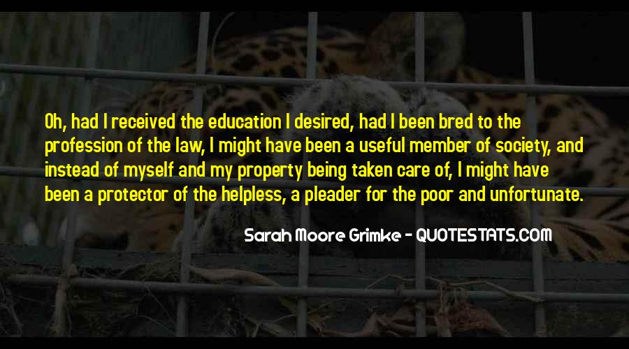 Quotes About Poor Education #1419159