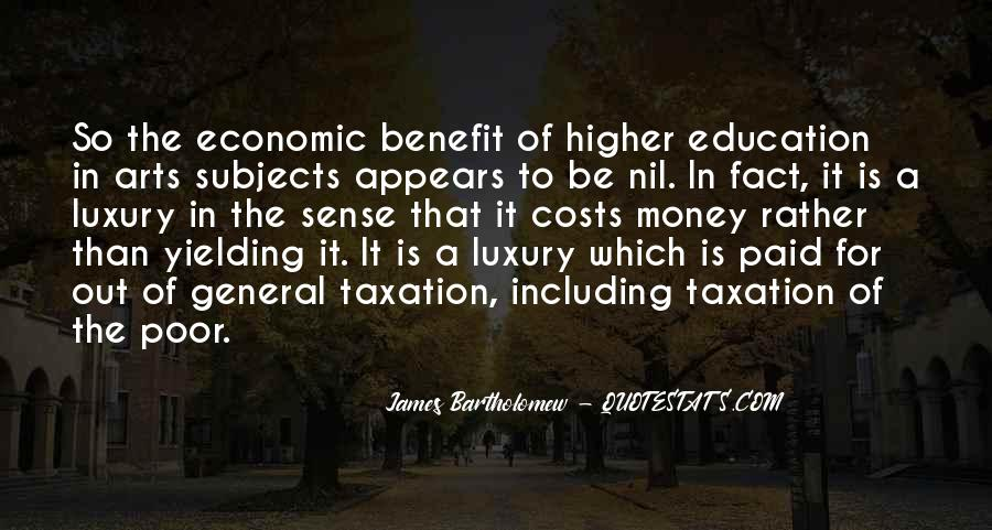 Quotes About Poor Education #1423396