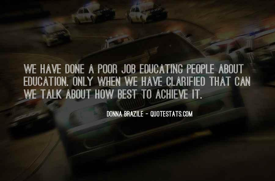 Quotes About Poor Education #150326