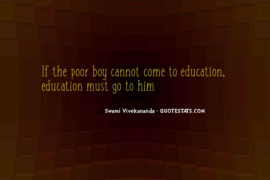 Quotes About Poor Education #176859