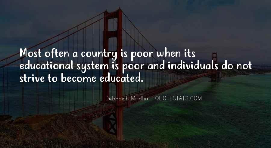 Quotes About Poor Education #212362